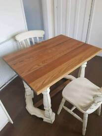 Table and 2chairs