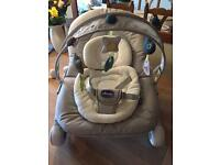 ONLY USED ONCE !!! Chicco Hoopla baby chair