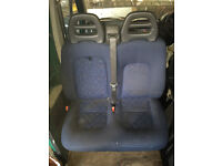 Fiat Ducato twin front seat
