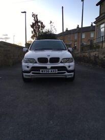 BMW X5 E53 3.0D Rare in White