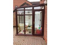Conservatory for sale, all glass.