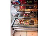 Yarnfield refridgerated cake counter