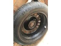 Space saver spare wheel T 125/85 R16 Pirelli