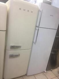Smeg fridge freezer 100% working with 6 months Warranty