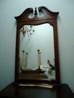 MIRROR  with MAHOGANY FRAME
