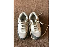 Kids toddler size 7 Nike air max trainers