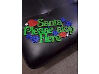 Wall hanging christmas mdf plaques