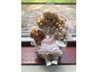Leonardo Collection Porcelain Doll (Nicola)