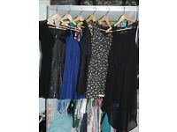 ladies clothing size 8-10-12 dresses tops and bags and accessories suit teen carboot joblot