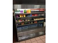 Shop display chiller fully working order