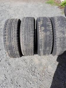 4 Subaru Used Steel Rims and Winter Tires 215/65/16