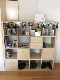 Large Bookshelf / Drawers Combo