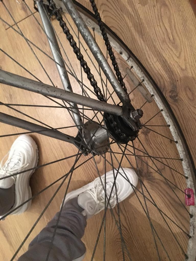 Fixed or semi fixed bike