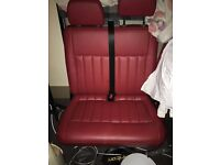Real Leather VW Transporter Seats