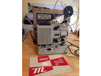 Working NOS mint condition Super 8mm film projector Eumig P8 Automatic + box+ accessories cine movie