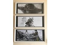 IKEA Picture Frames with Japanese Samourai Artwork