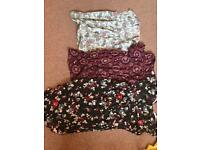 Maternity bundle of 3 tops/ dresses size 16 Next