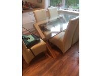 6 chair dinning table