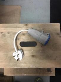 Caravan hook up adapter