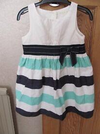 Girls summer dress – size 18-24 months
