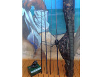 **Shimano Rods/Reels/ and Fox rod holder**