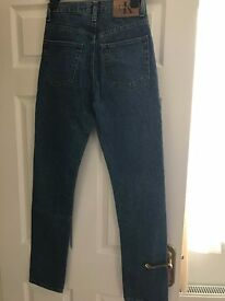 Legitimate Blue Calvin Klein Jeans, size small/medium