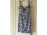 Hobbs Silk Pippa Dress size 14