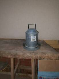 Poultry water dispenser