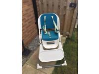 Mamas & Papas Pixi high chair - Teal