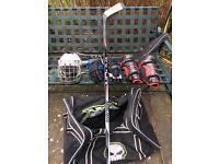 Ice/ inline hockey kit