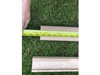 Oak handrail & base rail