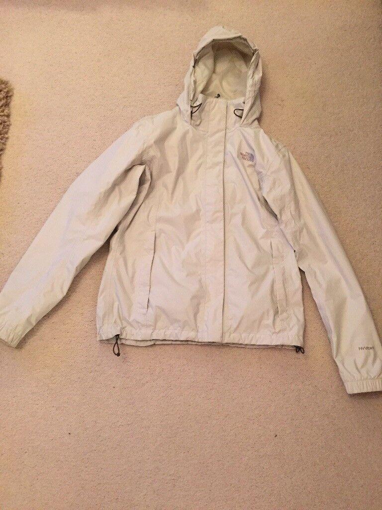 Ladies North Face Cream Jacket