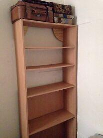 Free Standing Wooden Shelf Unit