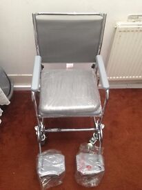 Cefndy T73 Glideabout Wheelchair + Commode (Portable Toilet Wheelchair)