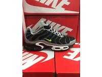 Men's Nike airmax plus TN trainers