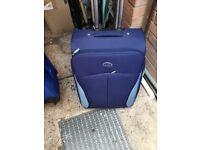 Large soft expandable suitcase