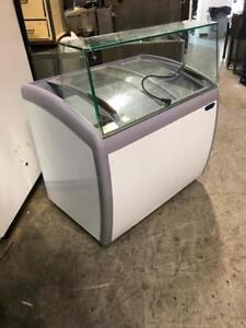 Congelateur a Creme Glacee Dur - Ice cream freezer Dipping Case