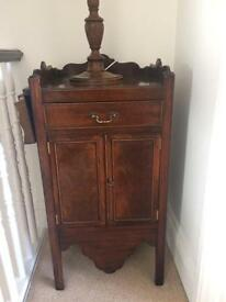 Antique Mahogany Cupboard h