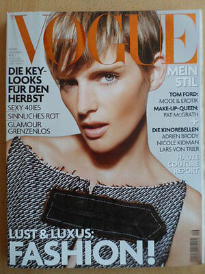 VOGUE GERMANY 9 - 2003 Stella Tennant Tom Ford Parker Posey Mary J. Blige Armani