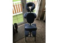 Portable massage/ therapist chair