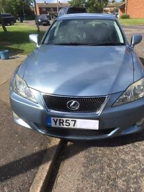 Lexus Is 220 Great car drives perfect for its age first to test drive will buy it well maintained.