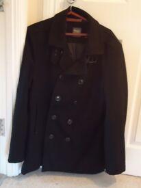 Jeff Banks Black Coat LARGE SIZE