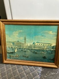 Venice Painting & Frame