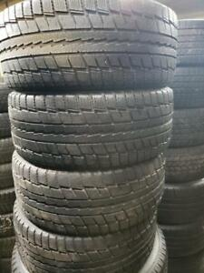 4 winter tires dunlop 225/50r17
