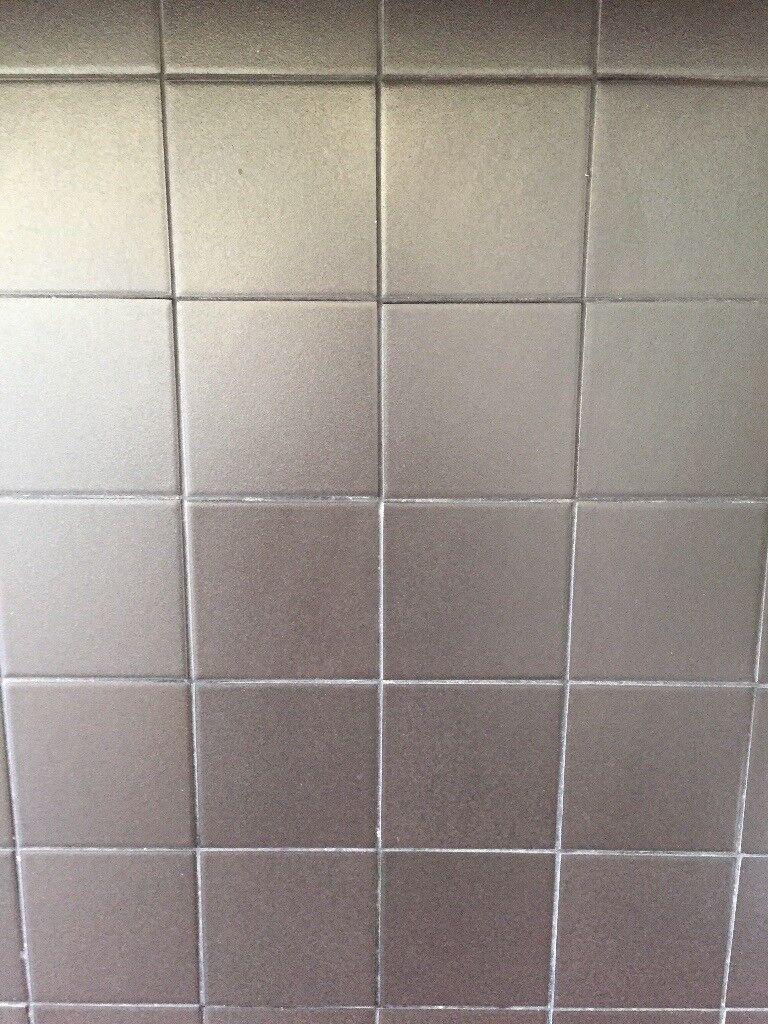 Black Matte 10cm Square Ceramic Tiles Made Of Stoneware Porcelain