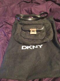 Black dkny bag