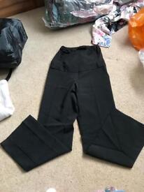 BNWOT Sz 8 maternity work trousers