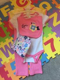 Baby girl items. 3-6 months