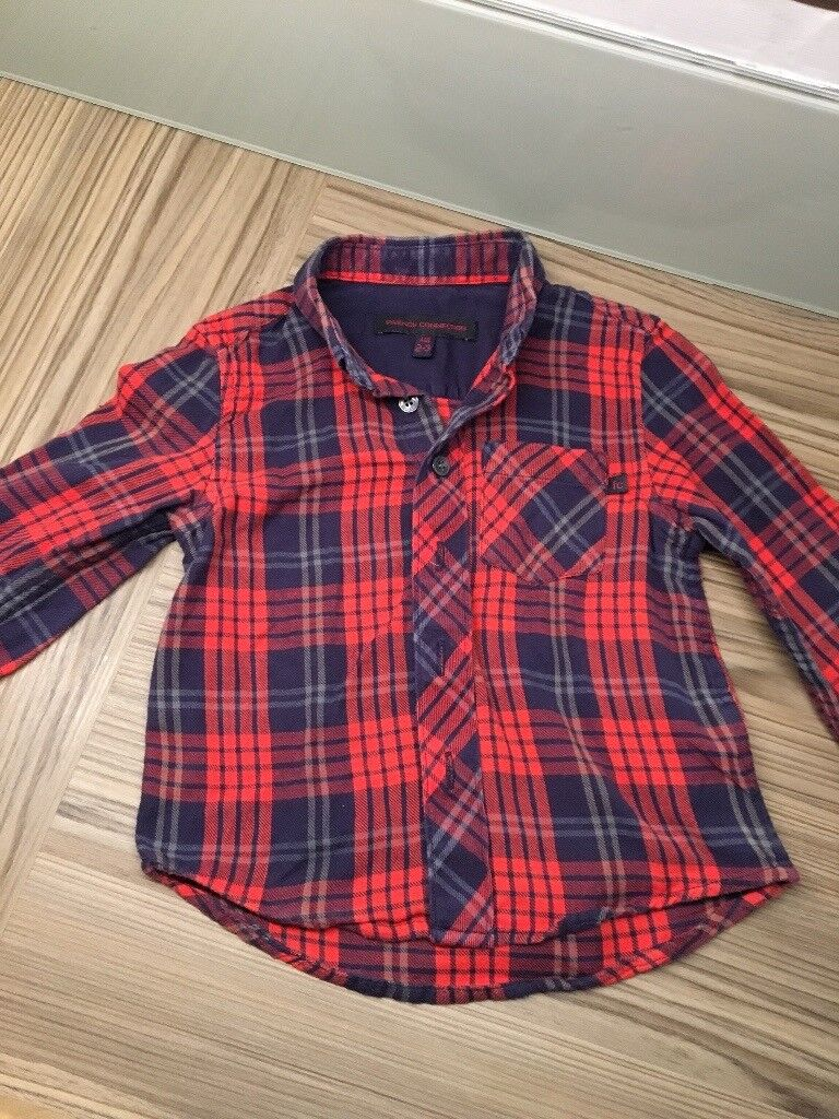 Boys French Connection shirt, good condition.