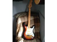 teisco stratocaster electric guitar